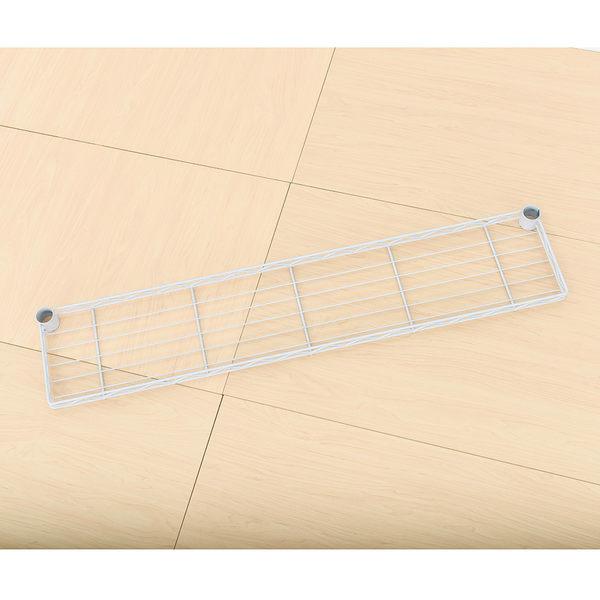 收納架/置物架/層架配件  【配件類】90X20cm 反焊設計烤白ㄇ網  含夾片/PP板 dayneeds