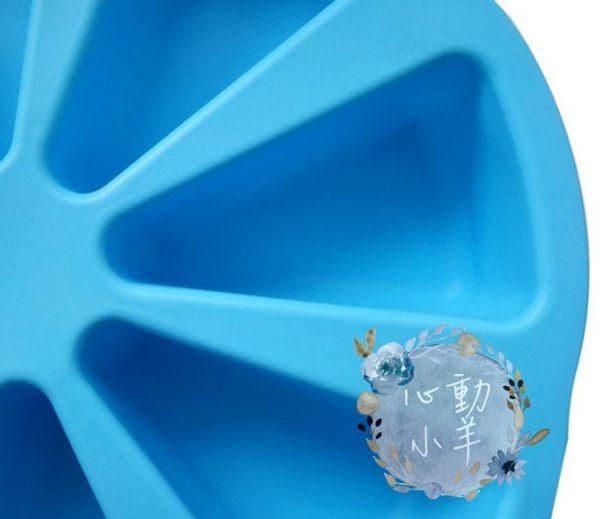 心動小羊^^心動小羊^^蛋糕8孔大烤盤,派型特級矽膠模具 矽膠手工皂模 派型土司模