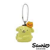 【日本正版】布丁狗 小橘貓款 立體 吊飾 擺飾 三麗鷗 SANRIO - 605184