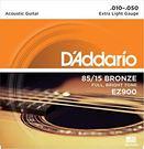 【敦煌樂器】DAddario EZ900 民謠吉他套弦