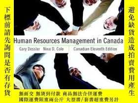 二手書博民逛書店Human罕見Resources Management In CanadaY256260 Gary Dessl