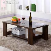 茶几簡約現代客廳邊幾家具儲物簡易茶几雙層木質小茶几小戶型桌子igo【搶滿999立打88折】