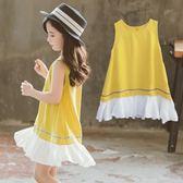 沙灘裙寶寶洋氣連衣裙女童夏季裙子