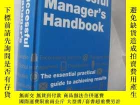 二手書博民逛書店DK罕見- Successful Managers Handbo