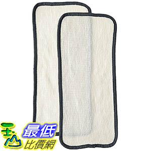 [106美國直購] 2 Eureka Enviro Floor Steamer Washable & Reusable Pad Fits Eureka Enviro 310A, 311A, 313A