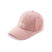 FILA 女款 滿版LOGO 棒球帽 粉色 HTV-5103-PK 【KAORACER】