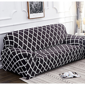 【三房兩廳】左轉遇見你舒適彈性沙發套-1+2+3人座/四色任選轉變黑