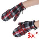 EX2 童翻蓋兩用保暖手套『紅』8524...