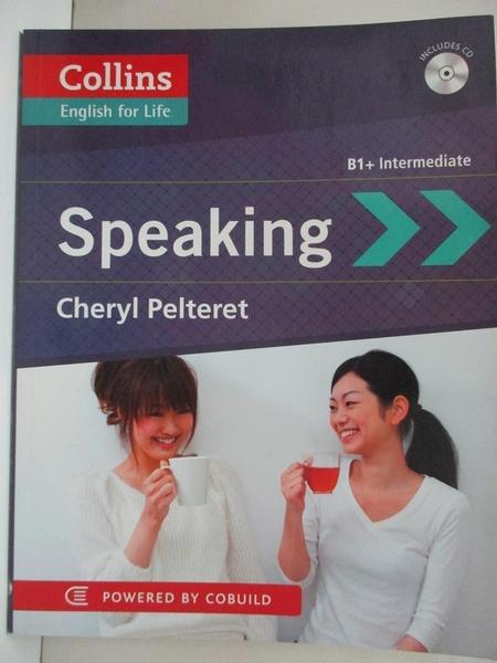 【書寶二手書T5/原文書_I8O】Collins English for Life: Speaking_Cheryl Pelteret