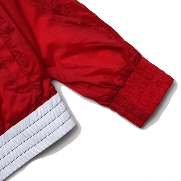 NIKE JORDAN 黑紅 拼接 運動 休閒 防風 風衣外套 童裝 (布魯克林) JDBWA6873R78