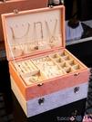 熱賣飾品收納盒 首飾盒收納盒多功能耳環耳飾項鍊戒指展示架子大容量手飾品耳釘盒 coco
