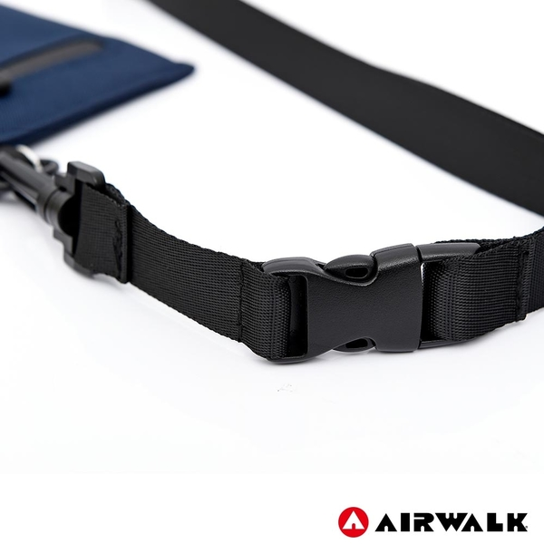 AIRWALK 率性頸掛包 -藍色 A725300980