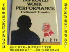 二手書博民逛書店Coaching罕見For Improved Work Performance-指導提高工作績效Y436638