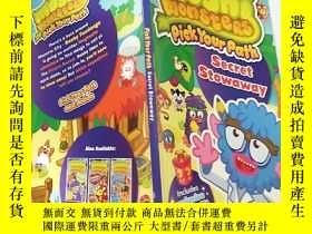 二手書博民逛書店Moshi罕見Monsters Pick Your Path選擇 你的路徑Y200392