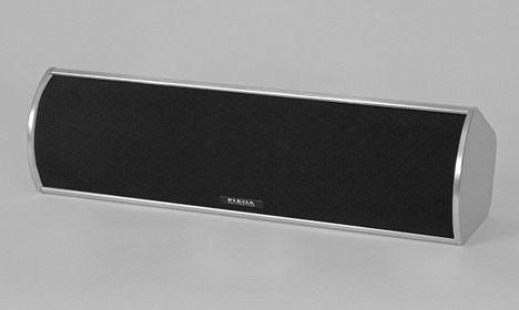 《名展影音》瑞士 Piega TMicro Center 中置喇叭 鋁合金箱體 鋁色
