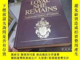 二手書博民逛書店Loyal罕見she remains: A pictorial