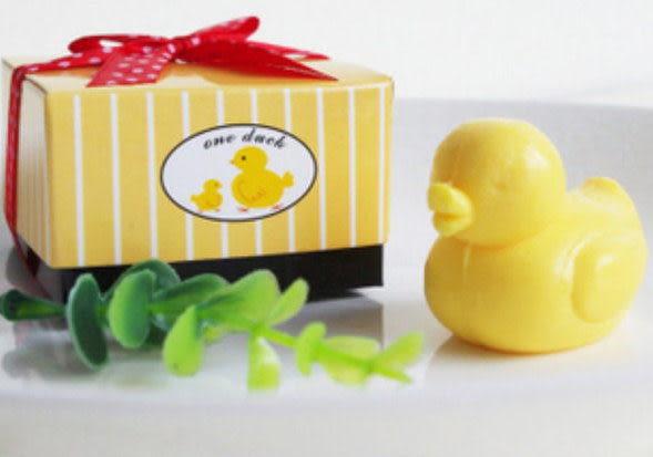 歐美婚禮小物--- 小鴨子香皂禮盒(A款)   送客禮 開幕禮 探房禮/25份