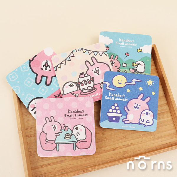 Kanahei珪藻土吸水杯墊- Norns 正版授權 卡娜赫拉 兔兔P助 餐具 台灣製