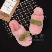 居家棉拖 棉拖鞋女冬室內居家可愛親子棉鞋產后包跟月子鞋情侶家用男士棉拖 5色35-45