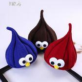 兒童毛線帽韓版男童女童秋冬季保暖針織嬰兒兒童可愛萌帽子