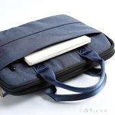 文件袋帆布拉錬A4多層大容量公文包男女士文件包檔案會議袋可訂製 小確幸生活館