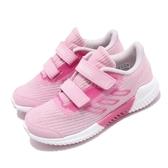 adidas 慢跑鞋 Climacool 2.0 CF C 粉紅 白 透氣 運動鞋 童鞋 中童鞋【PUMP306】 F33998