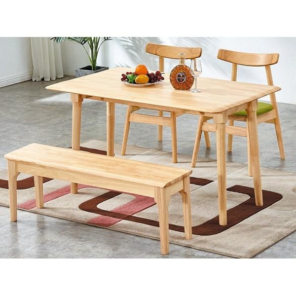 餐桌 BT-216-1 雲合摺合實木餐桌 (不含椅子) 【大眾家居舘】
