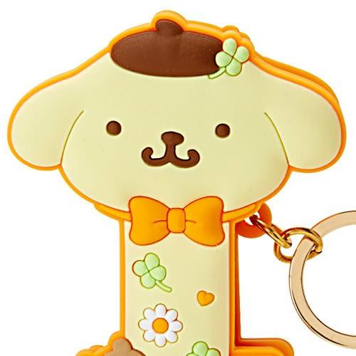 Sanrio 布丁狗可夾式造型鑰匙圈(幸運草)★funbox★_147974