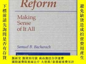 二手書博民逛書店Education罕見Reform: Making Sense Of It All-教育改革:理清一切Y436