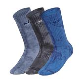 Nike U EVERYDAY PLUS LTWT CREW 三雙入 渲染 水洗 仿舊 中筒襪 CU6587-901
