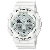CASIO G-SHOCK/自我悍將運動腕錶/GA-100MW-7ADR