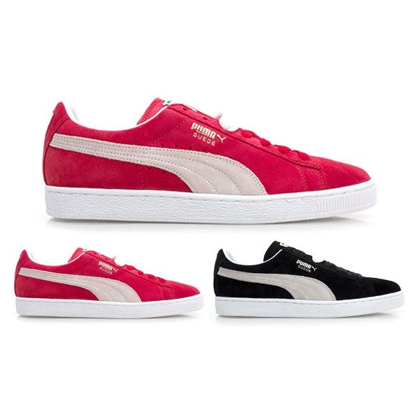 PUMA Suede Classic+ 女休閒鞋( 麂皮 滑板鞋