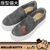 HELLO KITTY X Ann'S文青達利厚底懶人鞋-黑