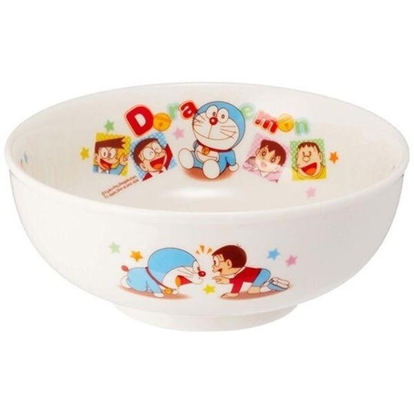 小禮堂 哆啦A夢 日本製 陶瓷碗公 (白方塊款) 4964412-06411