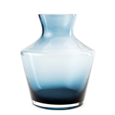 透明花器湛藍20cm