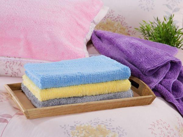 【新帛毛巾】微絲開纖紗系列-枕巾(擦髮巾)2入