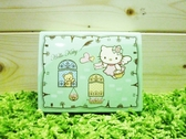 【震撼精品百貨】Hello Kitty 凱蒂貓~便條紙附整理盒-綠天使【共1款】