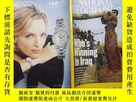 二手書博民逛書店National罕見Geographic January 2006Y16472 出版2006