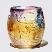 琉璃龍 筆筒 琉璃花瓶 聚寶盆 琉璃聚寶罐 琉璃禮品