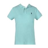 【南紡購物中心】Ralph Lauren 經典刺繡小馬短袖POLO衫-薄荷綠