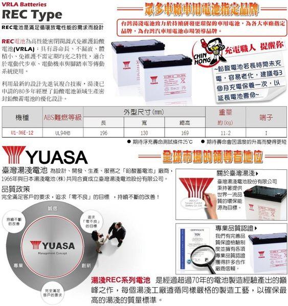 YUASA湯淺U1-36E-12