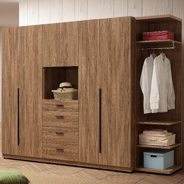 衣櫃 衣櫥 QW-173-2 亞伯斯8.5尺組合衣櫃【大眾家居舘】