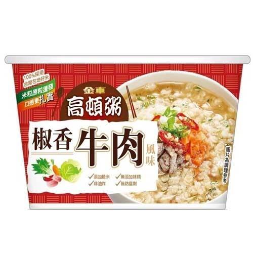 金車高頓粥椒香牛肉風味51g 【康鄰超市】