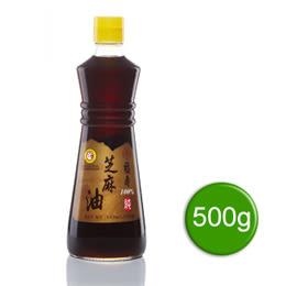 【福壽】100%純芝麻油500g*12