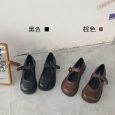 娃娃鞋 南在南方 日系復古可愛軟妹jk小皮鞋瑪麗珍大頭娃娃鞋ins學生單鞋 小宅女