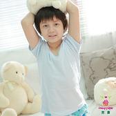 【anny pepe】男童美國純棉短袖 (水藍) 100~160CM