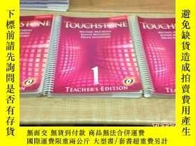 二手書博民逛書店Touchstone罕見Teacher s Edition 1