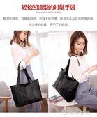 大包包女春季韓版簡約百搭手提包大容量側背包托特包女包 千千女鞋