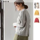 高領上衣 針織套裝 羔羊毛衣 可手洗 現貨 免運費 日本品牌【coen】