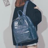書包女韓版原宿ulzzang大容量大學生雙肩包2020新款pu軟皮質背包